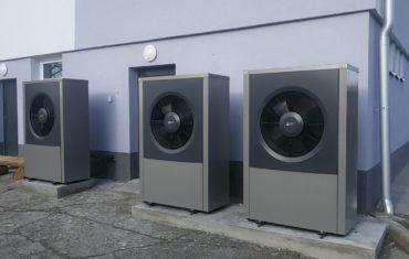 Instalace tepelných čerpadel v Heřmanicích u Oder