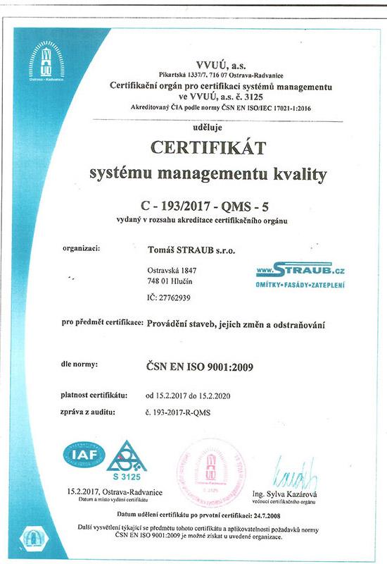 Systém managmentu kvality