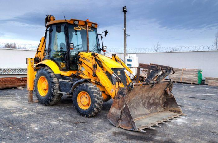 traktor-bagr JCB 3CX