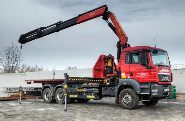 MAN TGS 440 s hydraulickou rukou