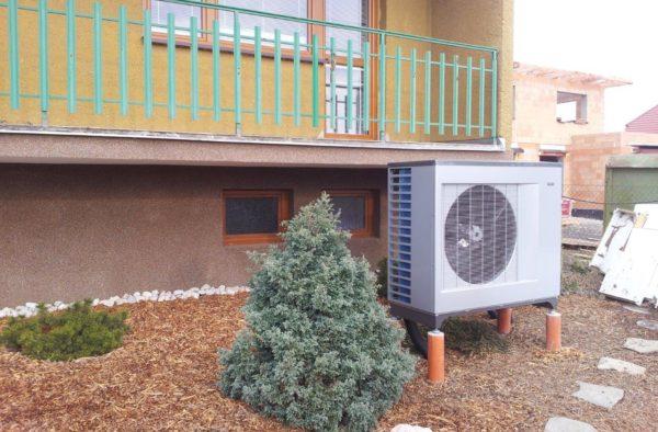 Dodávka a montáž tepelného čerpadla NIBE F2300 v Opavě