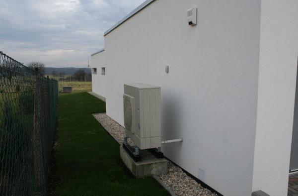 Dodávka a montáž tepelného čerpadla v Děhylově