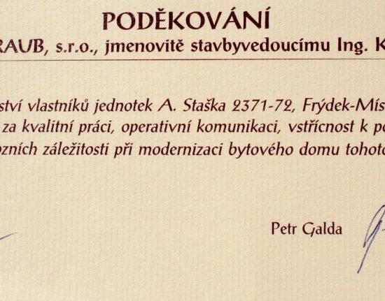 SVJ Antala Staška 2371-72 ve Frýdku-Místku