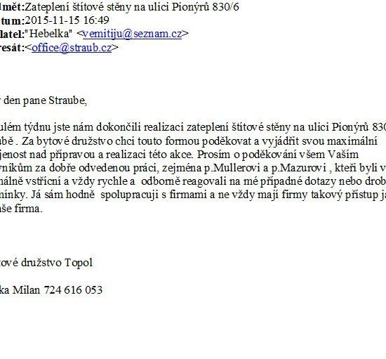 BD Topol Pionýrů 830/6 Ostrava - Poruba