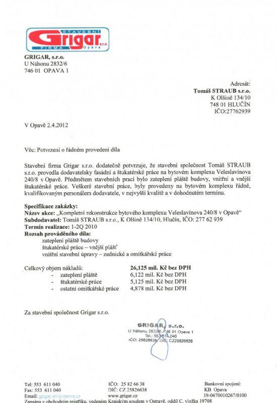 BD Veleslavínova 240 Opava