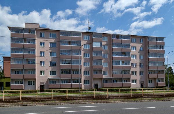Výstavba nových lodžií Opavská 20,22,24 Ostrava-Poruba