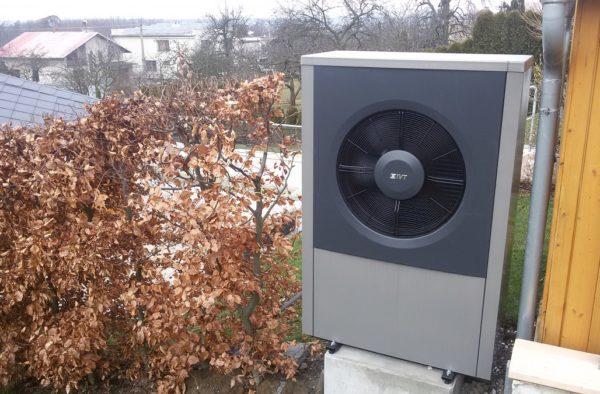 Dodávka a montáž tepelného čerpadla IVT AIR X 17Kw v Hlučíně