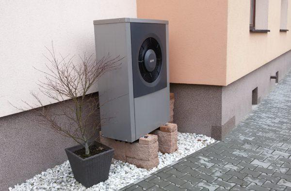 Dodávka a montáž tepelného čerpadla IVT AIR X 9Kw v Ostravě