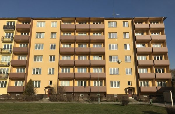 Výstavba nových lodžií Opavská 42,44 Ostrava – Poruba