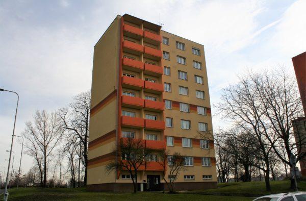 Výstavba nových lodžií Starobělská 62 Ostrava