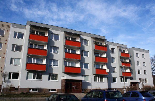 Revitalizace bytového domu Harcovská 1474 Frýdlant n.O.
