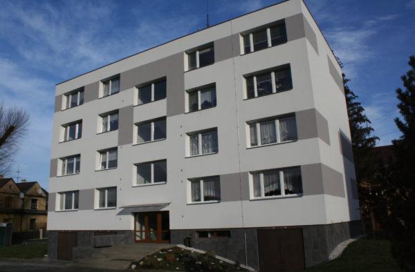 Revitalizace bytového domu Padlých Hrdinů 1268 Frýdlant n. O.