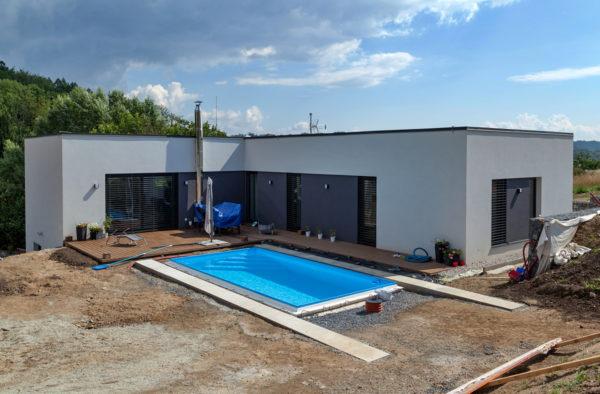 Výstavba rodinného domu v Děhylově