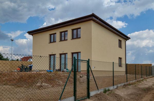 Výstavba rodinného domu v Krásném Poli
