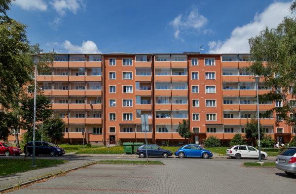Výstavba nových lodžií revitalizace domu Spartakovců 4,6 Ostrava