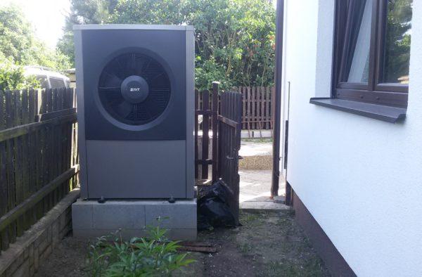 Dodávka a montáž tepelného čerpadla IVT AIR X 17Kw v Příboře