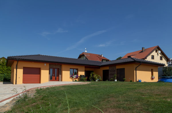 Výstavba rodinného domu v Olbramicích