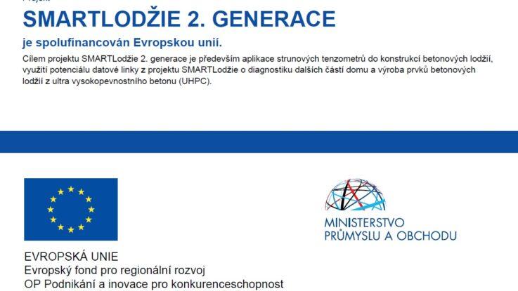 Projekt SMARTLODŽIE 2. GENERACE – je spolufinancován Evropskou unií