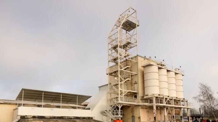Nová betonárna pro výrobu betonových prefabrikátů i transportbetonu