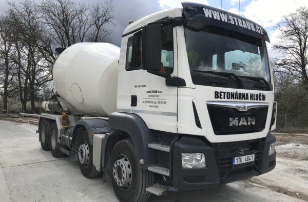Domíchávač betonu MAN TGS 32.400