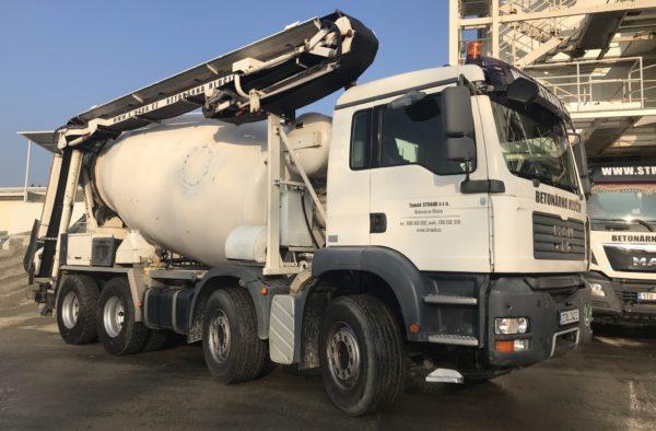 Domíchávač betonu s pásovým dopravníkem 12m MAN TGS 35.440